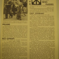 CNVA News Flash East Germany